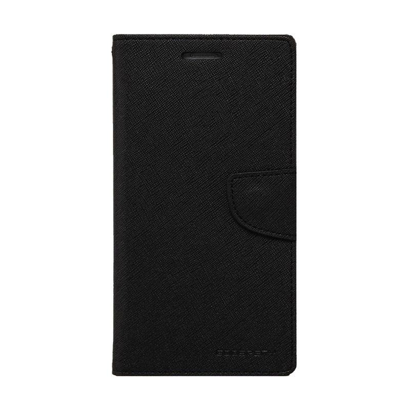 Mercury Goospery Fancy Diary Black Black Casing for Xperia SP