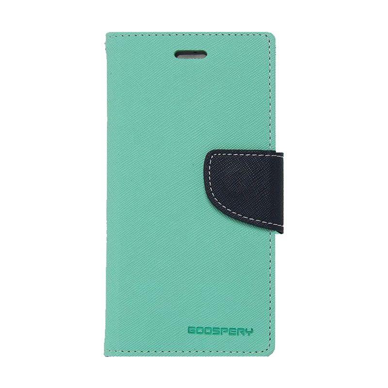 Mercury Goospery Fancy Diary Mint Navy Casing for LG G3 Stylus