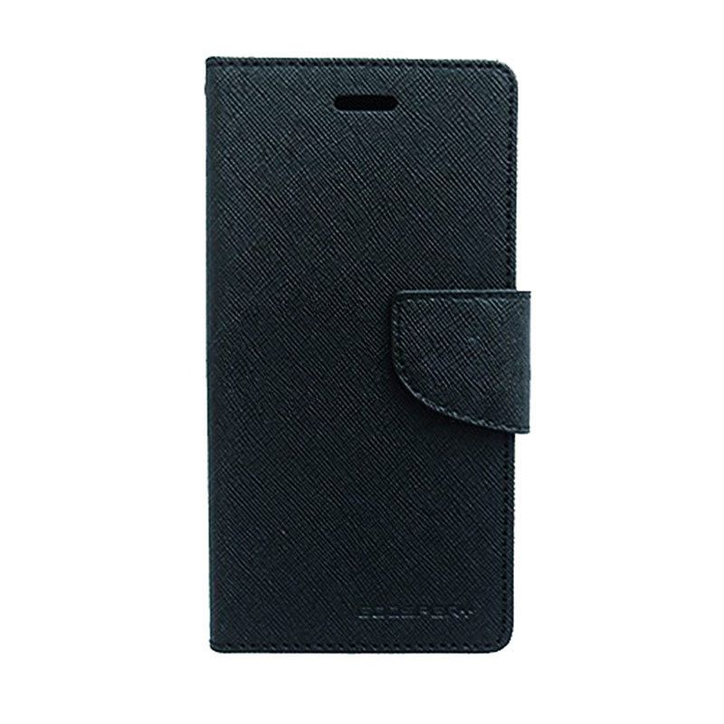 Mercury Goospery Fancy Diary Black Casing for Galaxy Grand Neo