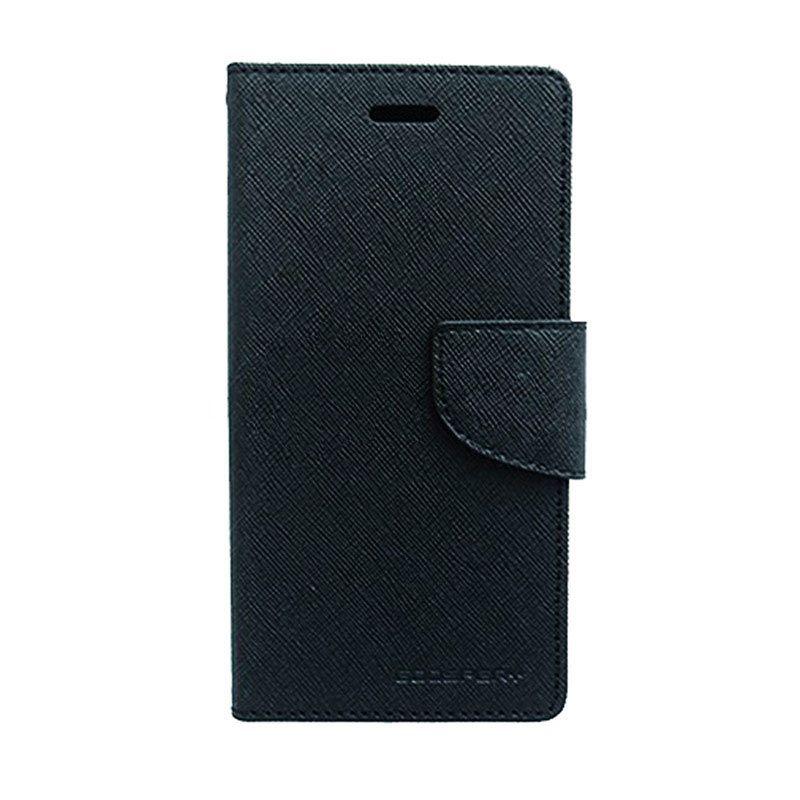 Mercury Goospery Fancy Diary Black Casing for Xperia Z