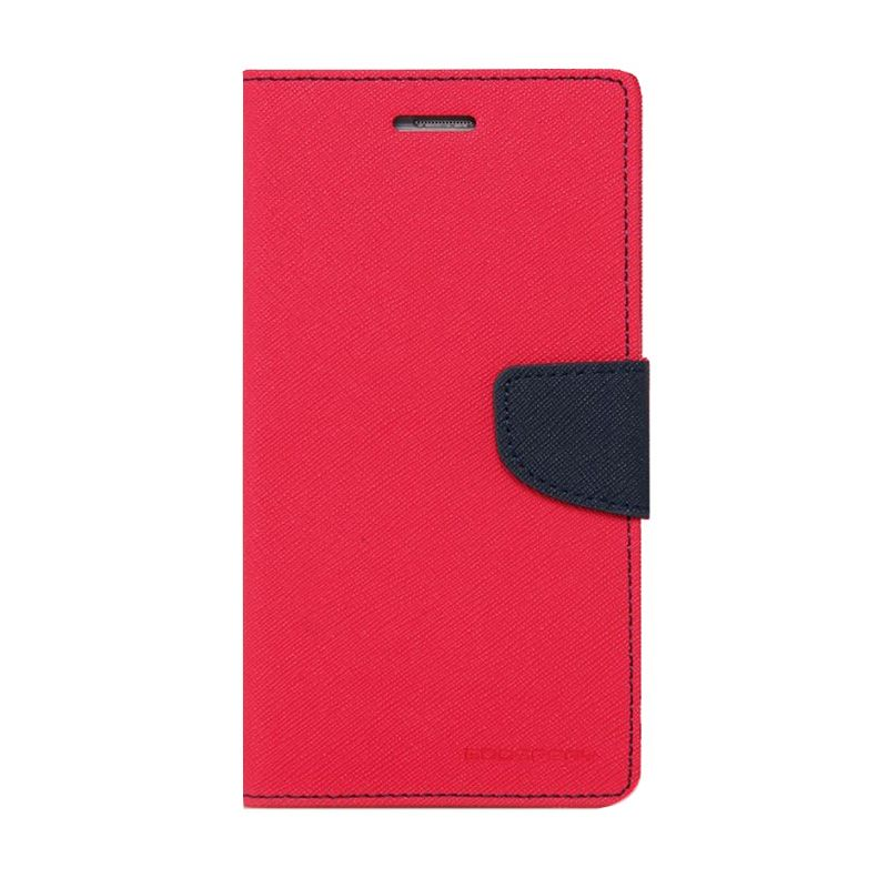 Mercury Goospery Fancy Diary Hot Pink Navy Casing for LG Pro 2