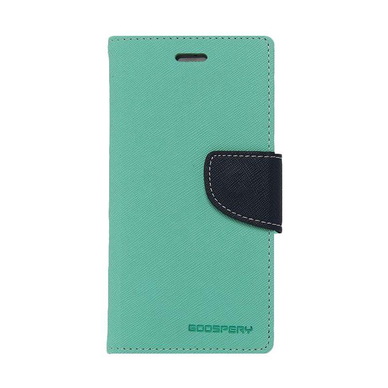 Mercury Goospery Fancy Diary Mint Navy Casing for LG Pro Lite