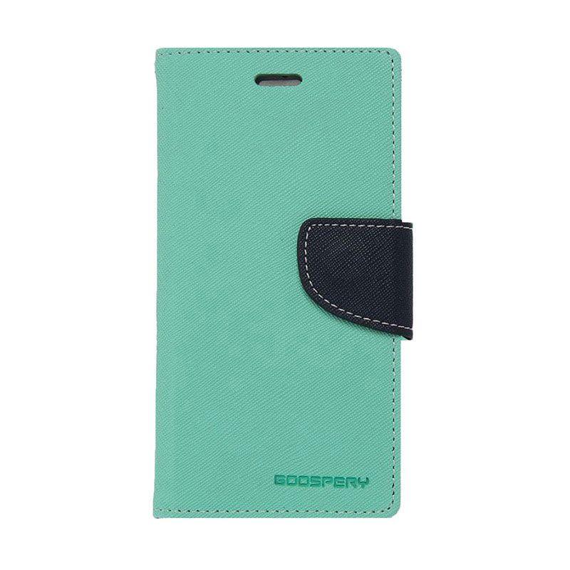 Mercury Goospery Fancy Diary Mint Navy Casing for Xiaomi Redmi 1S