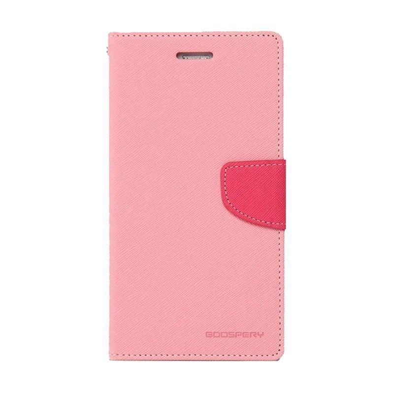 Mercury Goospery Fancy Diary Pink Hotpink Casing for Xiaomi Mi3