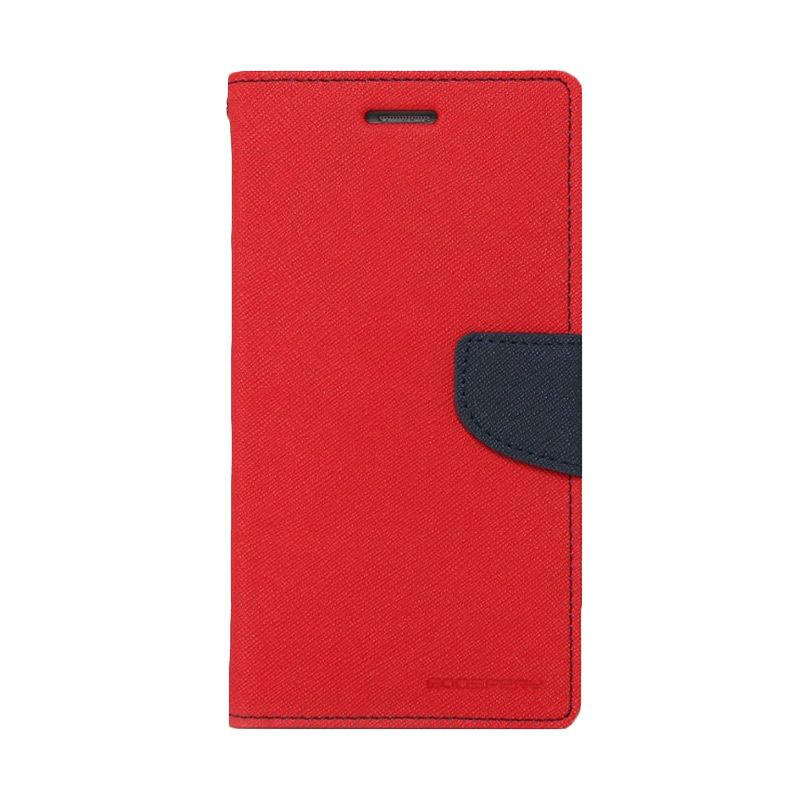 Mercury Goospery Fancy Diary Red Navy Casing for LG Pro 2