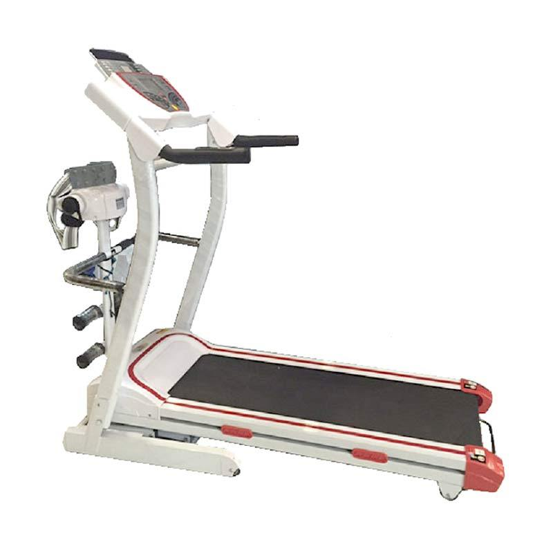 Grosir Plus Treadmill Elektrik HATM-175 Alat Fitness & Training White