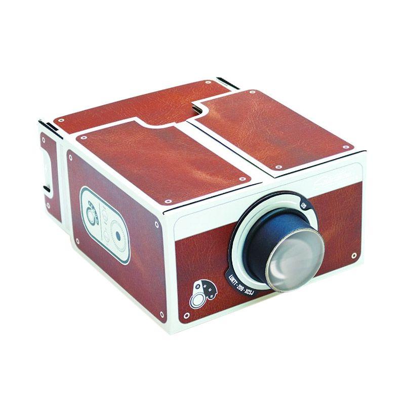 Grosirunik99 Portable Cardboard Smartphone Projector [2.0]