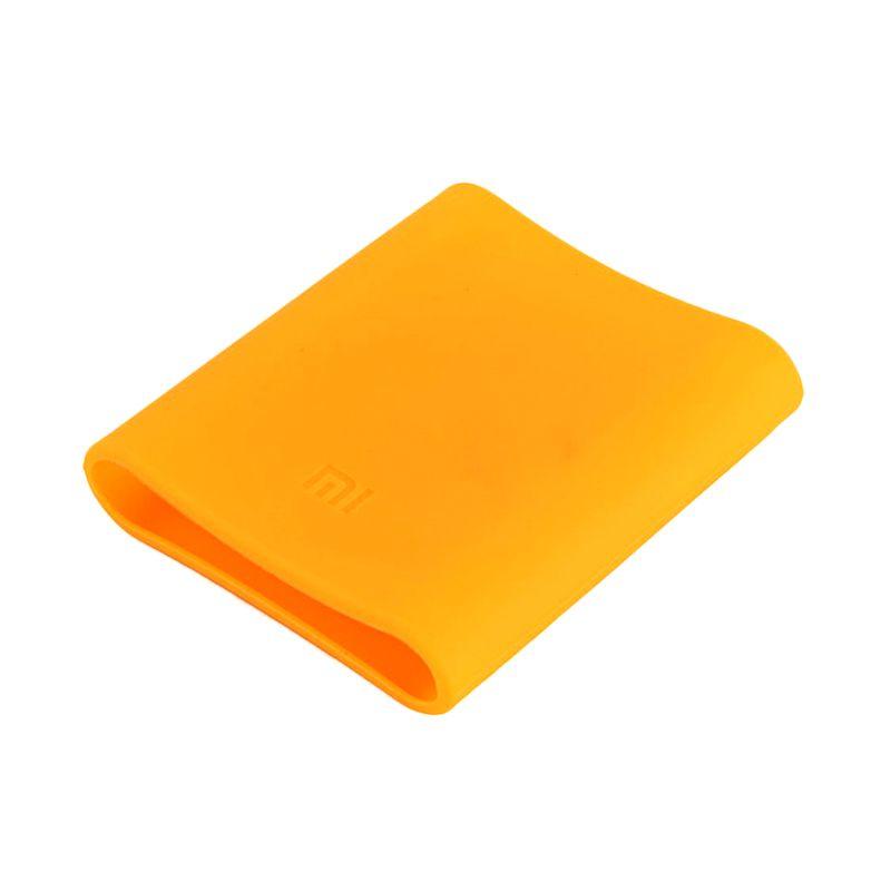 Xiaomi Silicon Orange Casing for Mi Powerbank [10400 mAh]