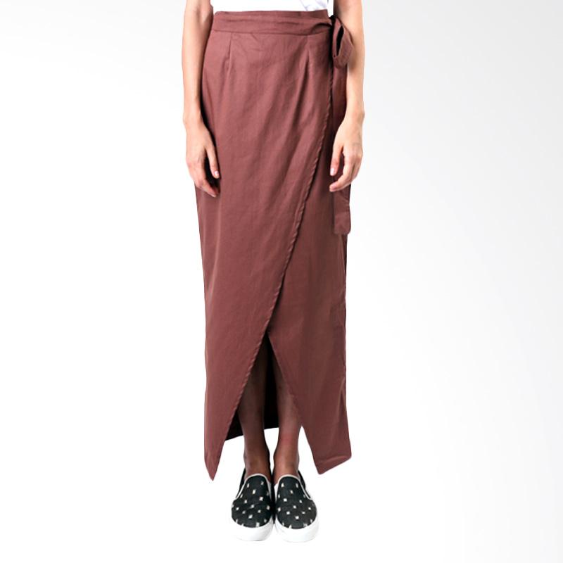 Gshop Andara GR 4297 Long Skirt - Brown