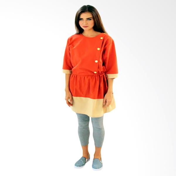 Gshop Neila GR 3276 Midi Dress - Orange