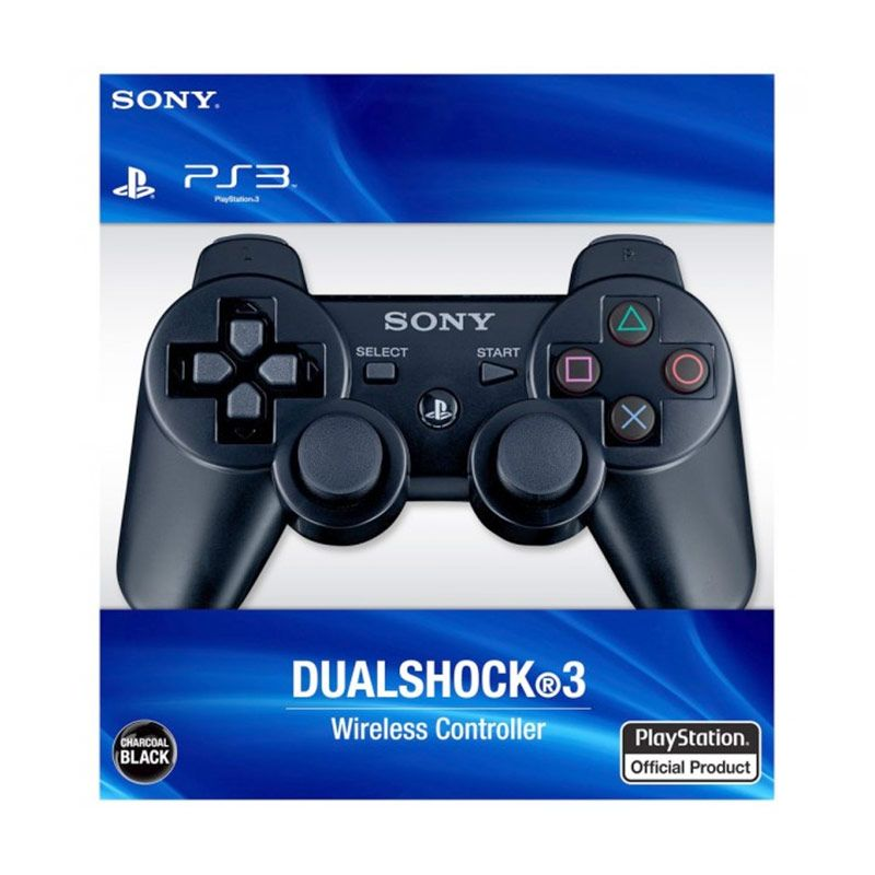 Gstation Sony PS3 Wireless Hitam Stick Controller