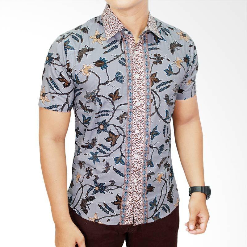 Gudang Fashion BAT 559 Katun Multi Colour Batik Pria