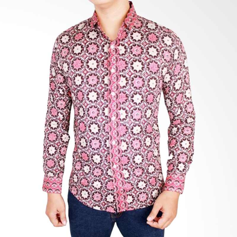 Batik Pria Fashion: Kemeja Batik Pria Lengan Panjang