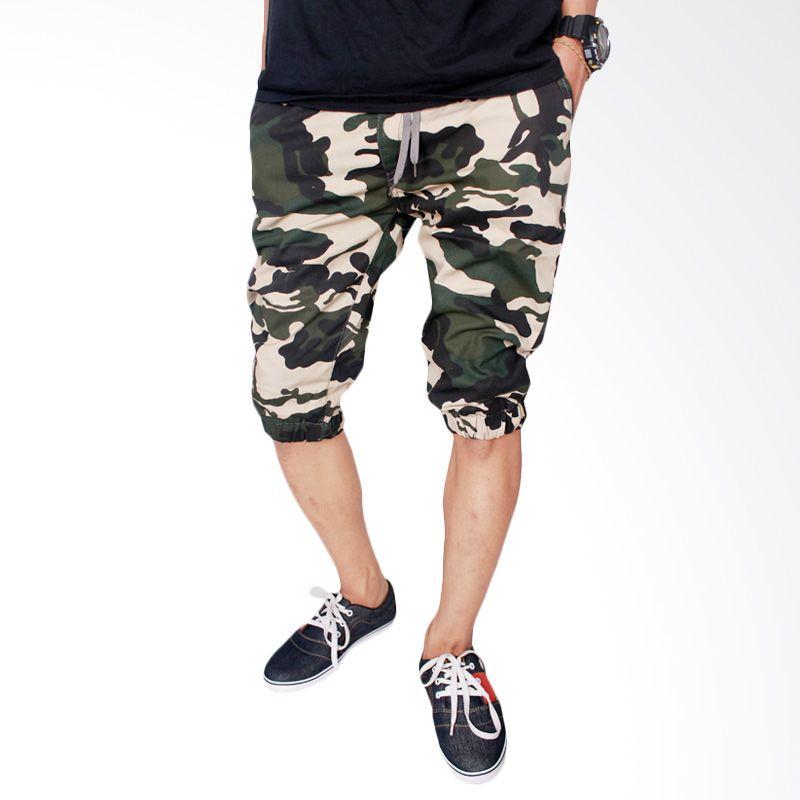 Gudang Fashion Jogger Stretch CLN 688 Loreng Celana Pria