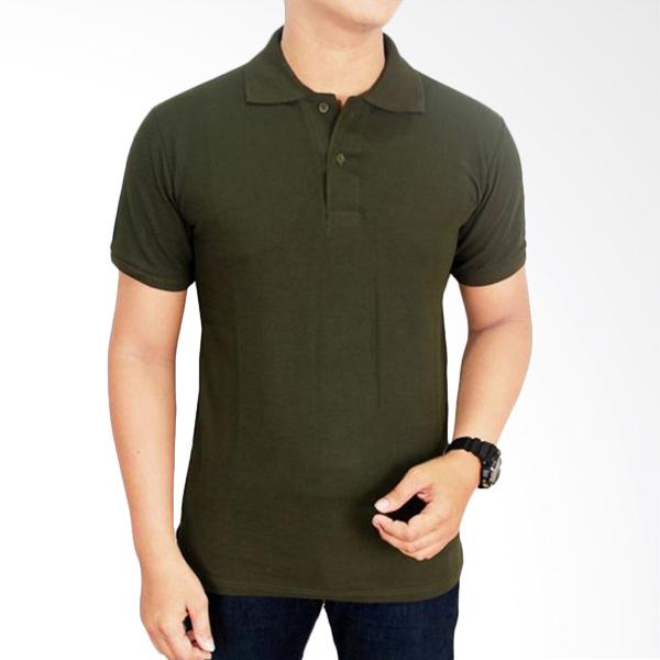 Gudang Fashion Kaos Polos Kerah POL 60 Hijau Army Atasan Pria Extra diskon 7% setiap hari Extra diskon 5% setiap hari Citibank – lebih hemat 10%