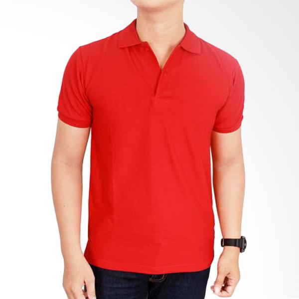 Gudang Fashion Kaos Polos Kerah POL 52 Merah Cabe Atasan Pria Extra diskon 7% setiap hari Extra diskon 5% setiap hari Citibank – lebih hemat 10%