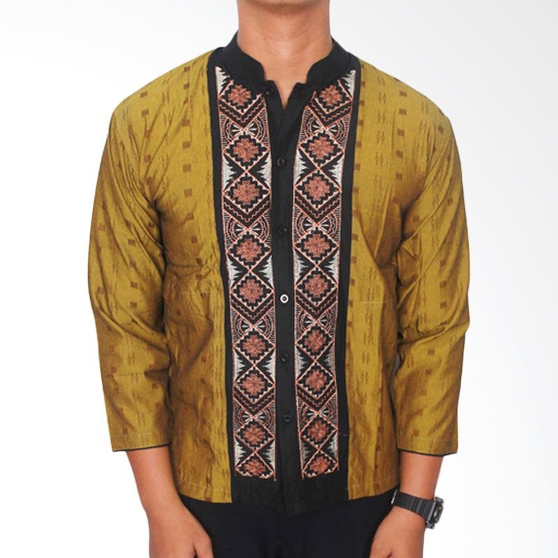 Gudang Fashion 07 Katun Multicolour Baju Koko