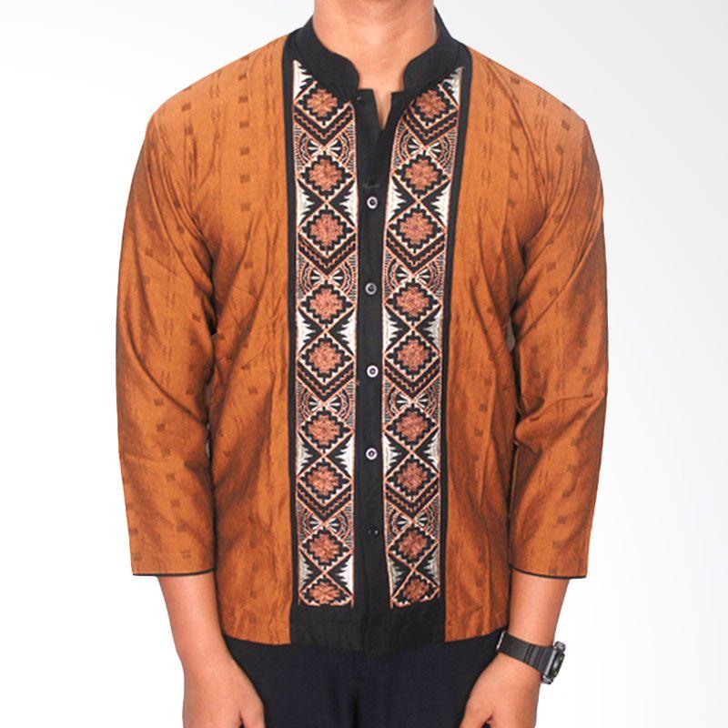Gudang Fashion Katun KOK 1445-A Kombinasi Warna Baju Koko