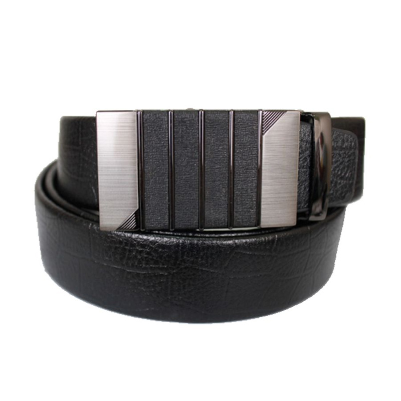 Gudang Fashion 842 Male Belts Semi Kulit Belt - Black