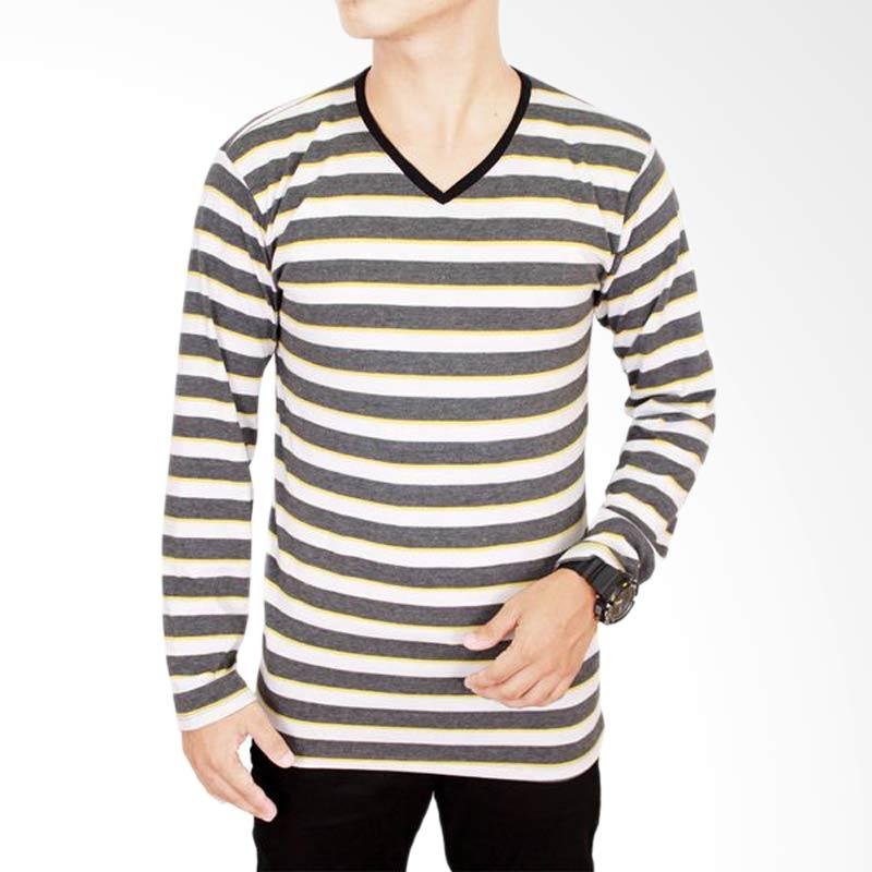 Gudang Fashion PAN 609 Spandek T-Shirt Long Sleeve - Grey Extra diskon 7% setiap hari Extra diskon 5% setiap hari Citibank – lebih hemat 10%