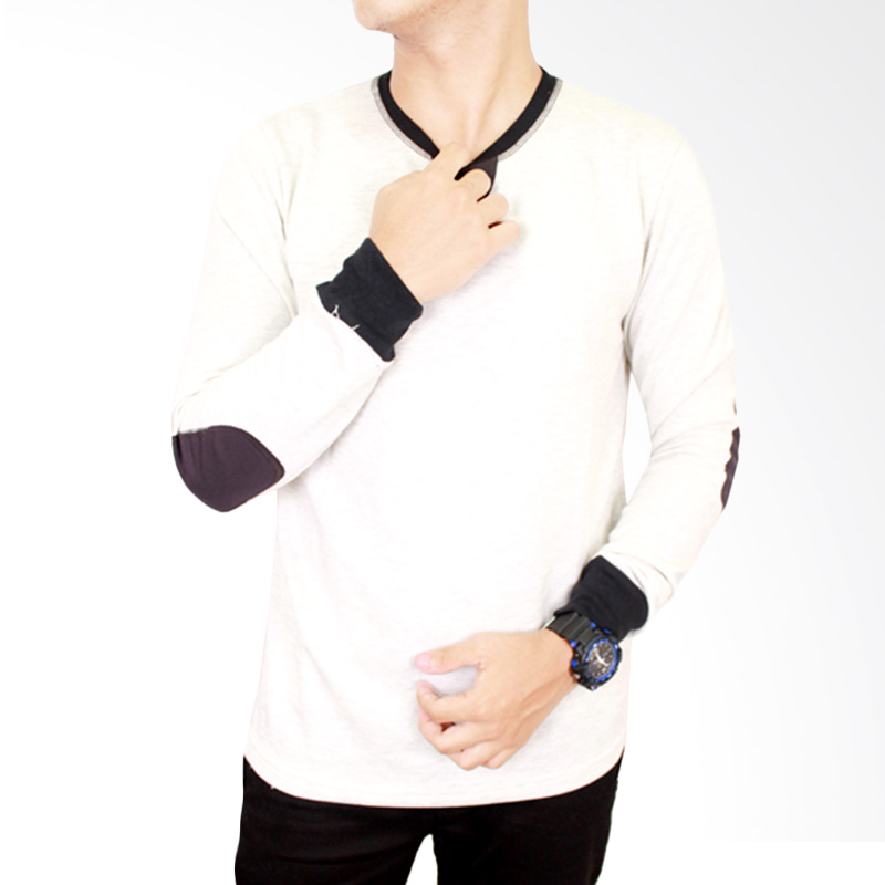 Gudang Fashion PAN 662 Long Sleeve Men Tshirt Katun - Beige Extra diskon 7% setiap hari Extra diskon 5% setiap hari Citibank – lebih hemat 10%
