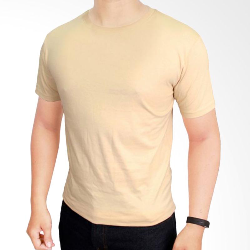 Gudang Fashion POL 21 Kaos Polos O-neck Pendek Cotton Combed 20S Cream T-shirt Extra diskon 7% setiap hari Extra diskon 5% setiap hari Citibank – lebih hemat 10%