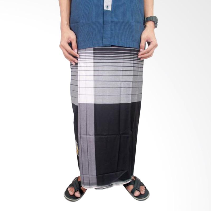 harga Gudang Fashion SRG 100 Kain Muslim Katun Sarung Pria - Black White Blibli.com