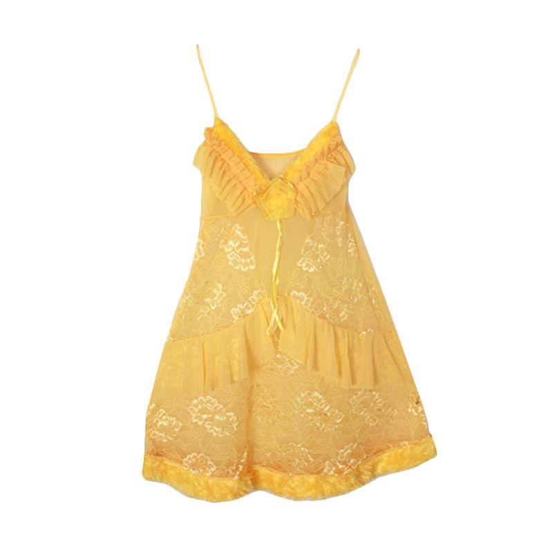Gudang Fashion Tile LGR 19-A Kuning Lingerie