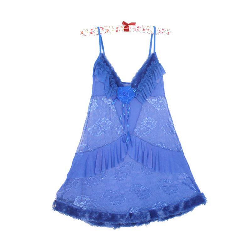 Gudang Fashion Tile LGR 20-A Biru Lingerie