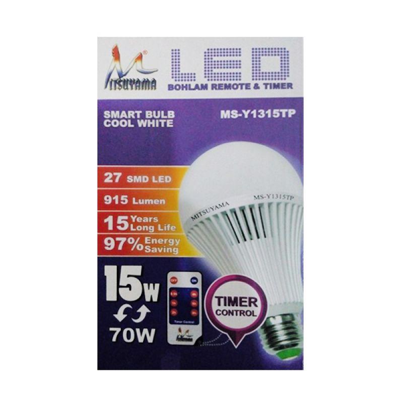 Mitsuyama Lampu Remote Putih Lampu LED [15 Watt]