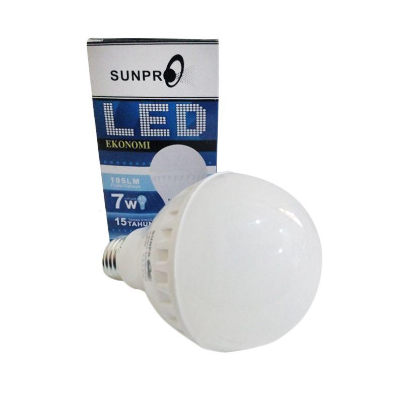 Sunpro Ekonomi Putih Lampu LED [7 Watt]