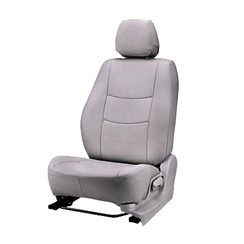 GL Light Grey Oscar Sarung Jok Mobil untuk Toyota New Rush Airbag