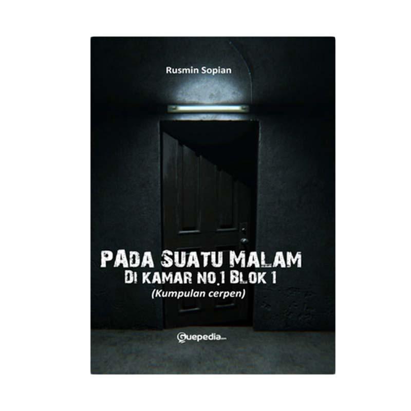 Pada Suatu Malam, Dikamar No 1 Blok 1 By Rusmin Sopian Buku Novel