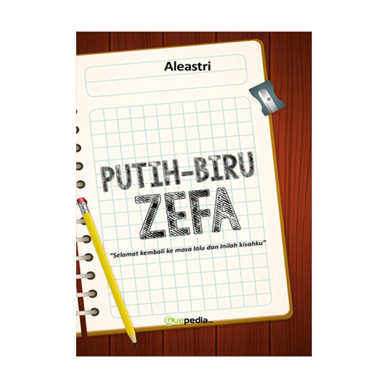 Guepedia Putih Biru Zefa by Fai Failien Buku Novel