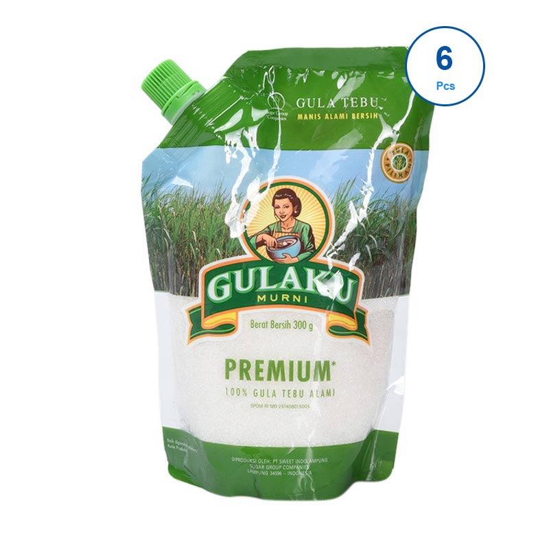 harga Gulaku Premium Pouch [300 g/6 pcs] Blibli.com