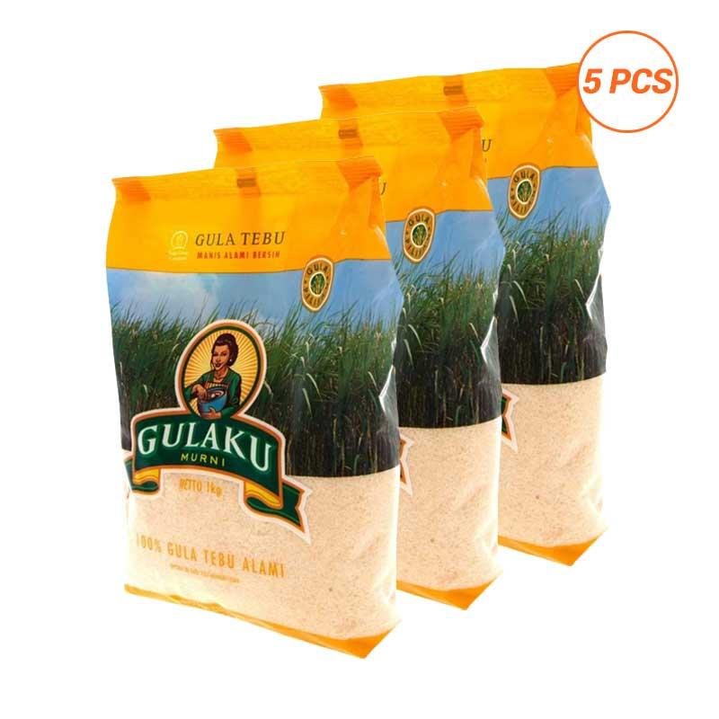 harga Gulaku Tebu Kuning Gula Pasir [1 kg / 5 Packs] Blibli.com