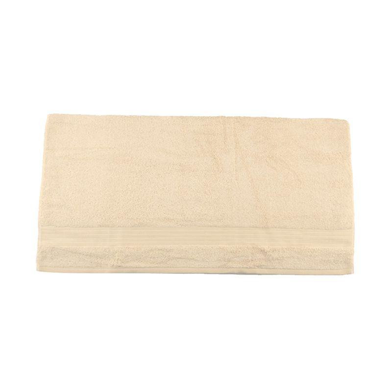 Bleu Duvin Off White Cream Bath Towel Handuk [80 x 45 cm]