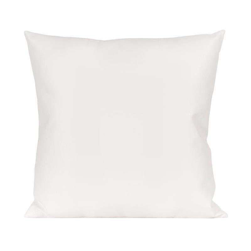 Bleu Duvin Putih Bantal Sofa [ 40 x 40 Cm]