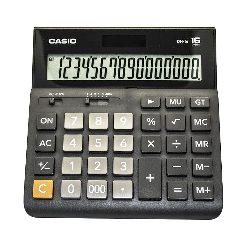 Casio DH-16-BK Kalkulator