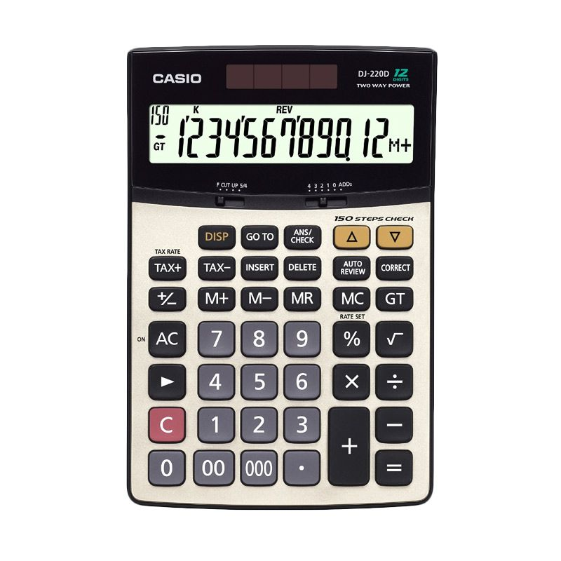 Casio DJ-220D Kalkulator
