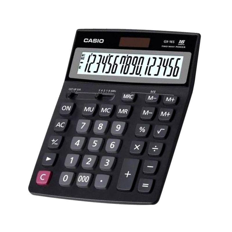 Casio GX-14B Black Kalkaulator