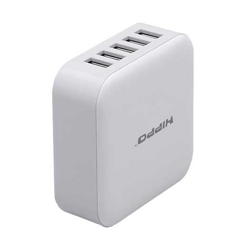 Hippo Penta White Travel Adaptor