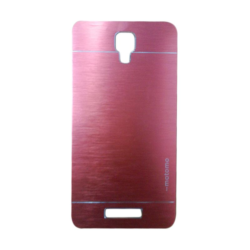 Jete Motomo Metal Red Casing for Xiaomi Redmi Note 2