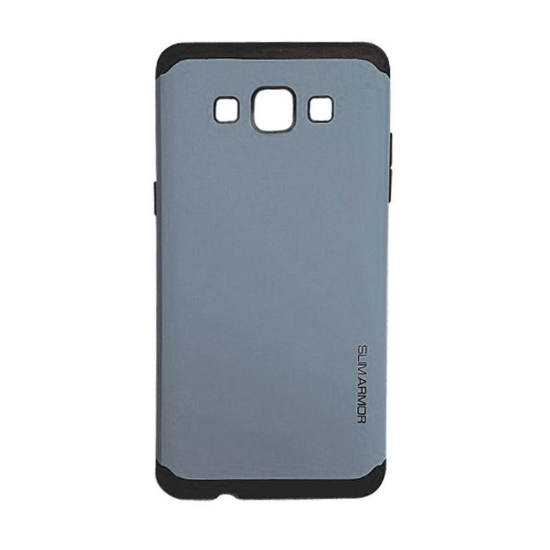 Jete Slim Armor Dark Blue Casing For Samsung Galaxy E5