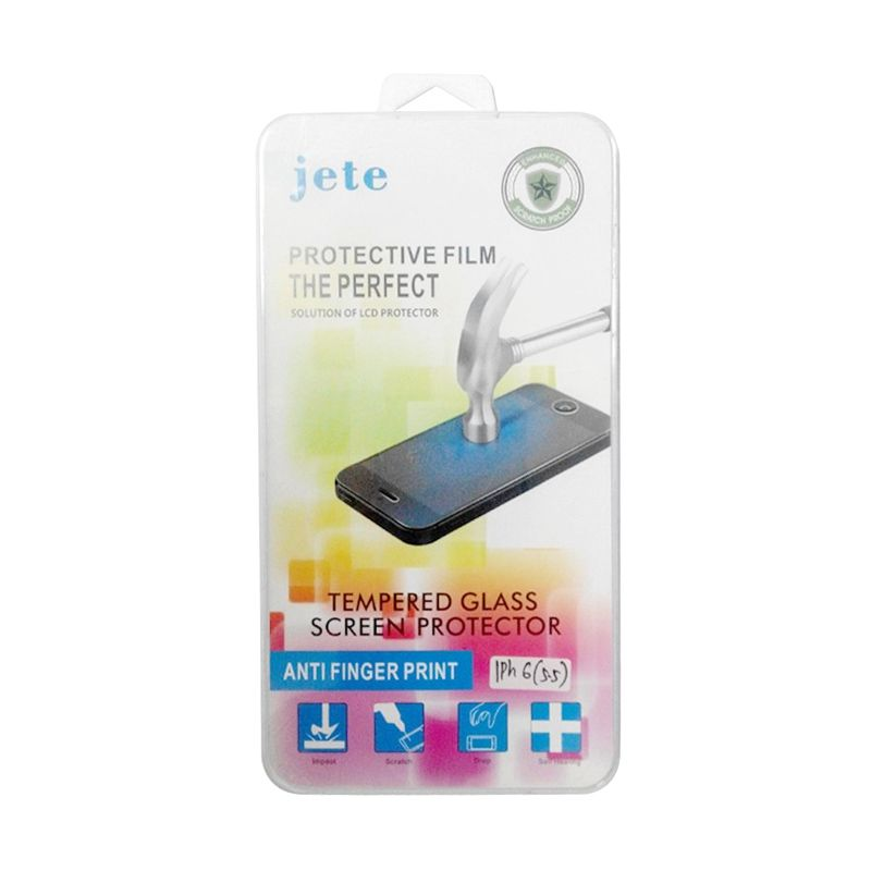 Jete Tempered Glass Screen Protector for iPhone 6 Plus