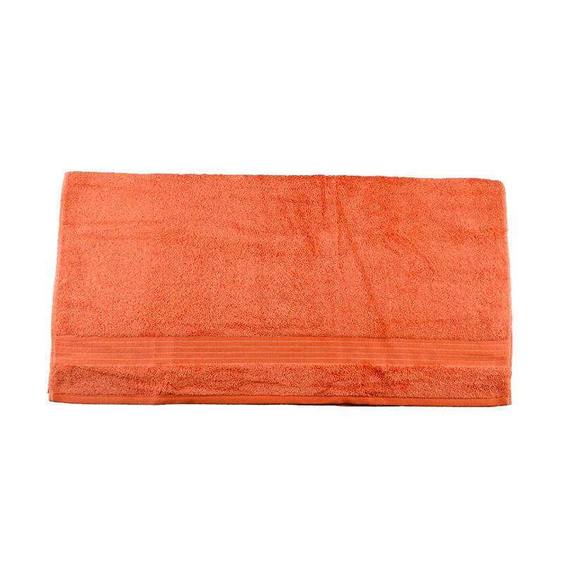 Serta 824 Burn III Orange Bath Towel [140 x 68 cm]