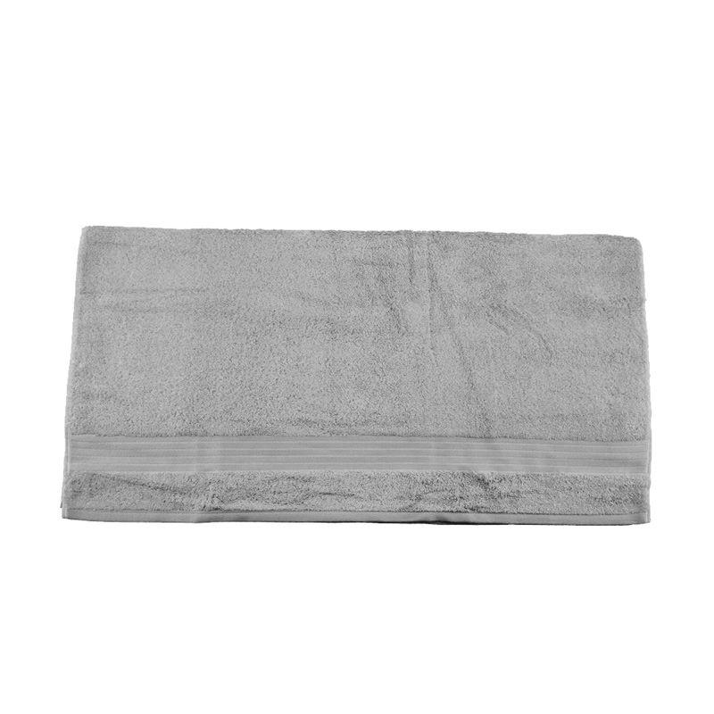 Serta 833 Grege III Abu-Abu Muda Bath Towel Handuk [140 x 68 cm]