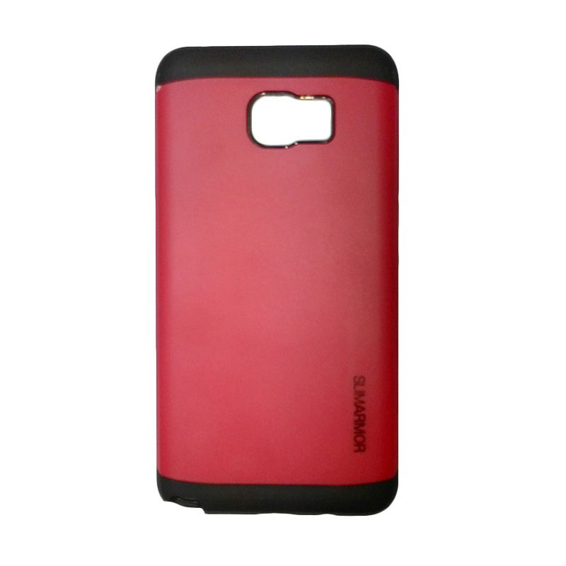 Smile Slim Armor Red Casing for Samsung Galaxy Note 5