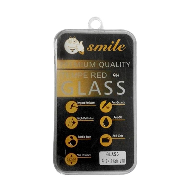 Smile Tempered Glass Screen Protector for iPhone 6