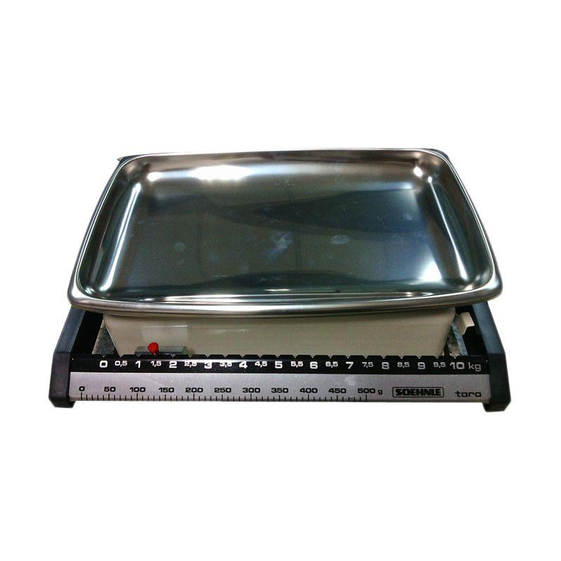 Soehnle 14001209 Silver Timbangan [10 Kg]